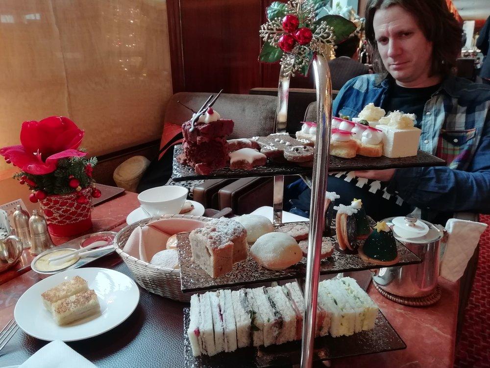 Christmas Afternoon Tea at Mandarin Oriental