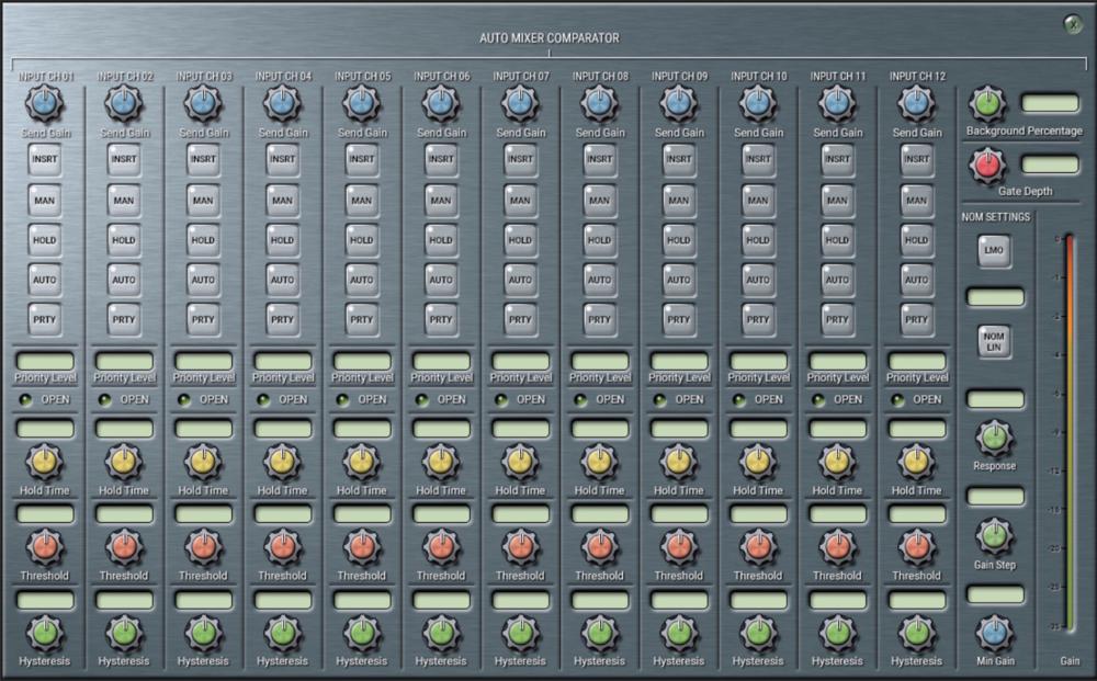 Auto Mixer Comparator