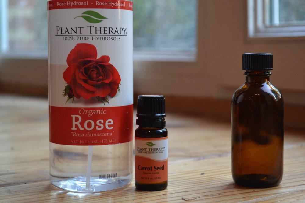 Rose-Carrot Facial Toner