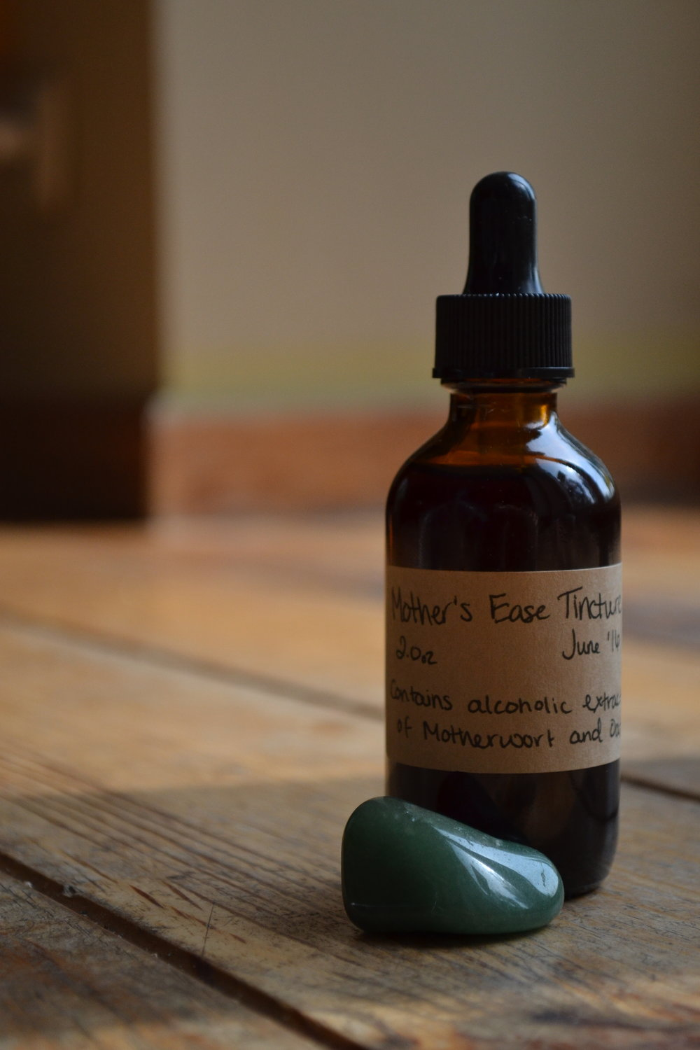 Mother-ease tincture for emotional support for moms.