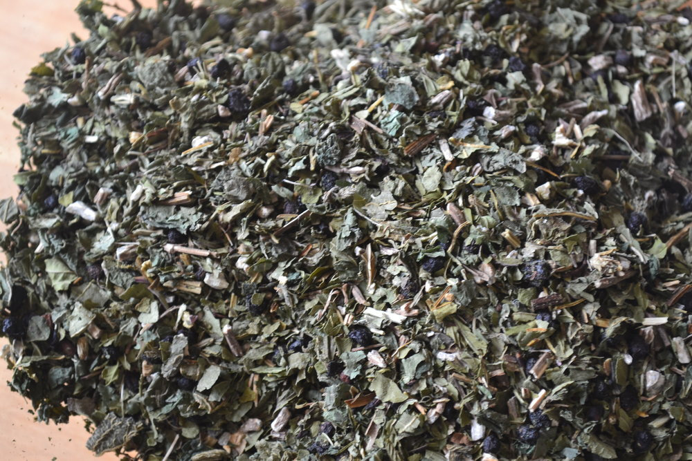 Double Immuni-Tea for winter immune system support.