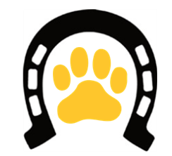 Dog and Cat Paw Print, Horse Shoe