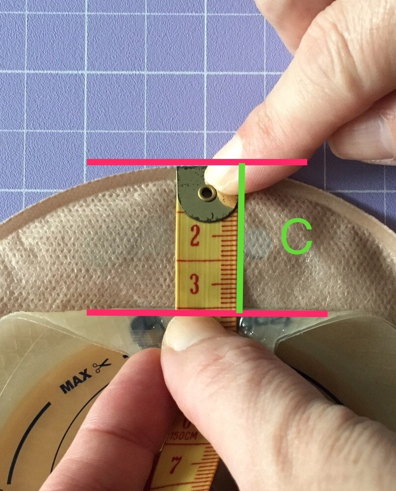 - Measurement C = ______________mmRING PLACEMENT: