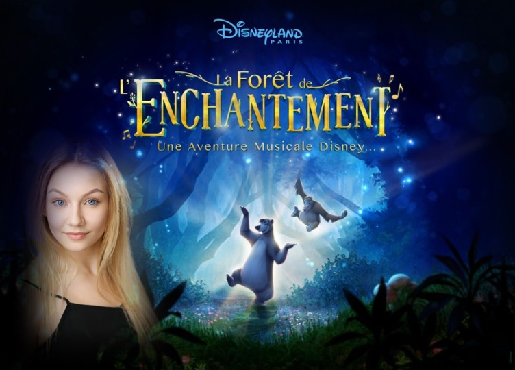 Daisy Twells performs in La Foret Enchantment as Rapunzel.