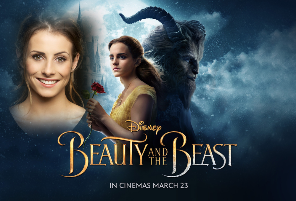 Courtney Pruce is currently filming Disney's Beauty and the Beast.