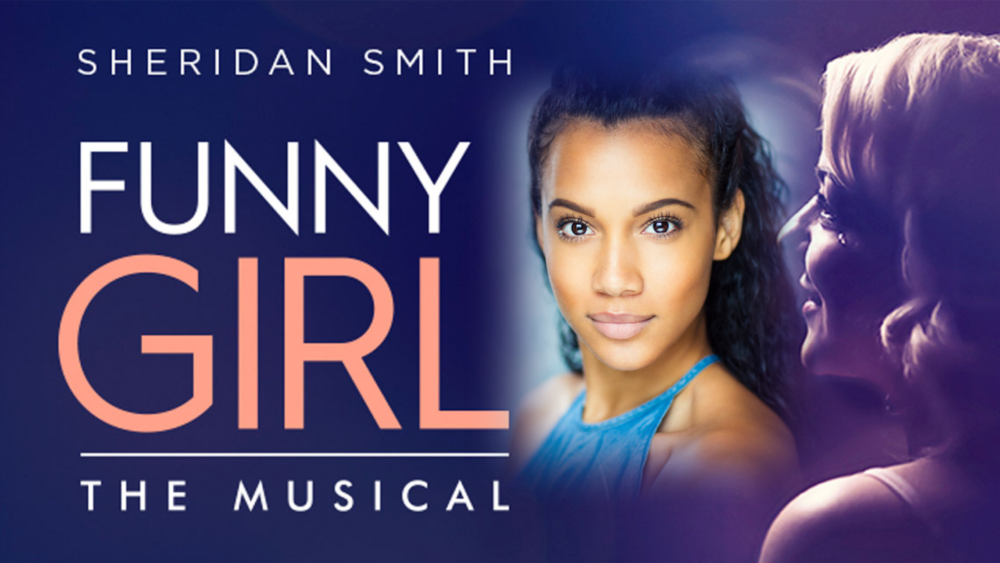 Sanchia Clarke appeared at the Savoy Theatre in Funny Girl