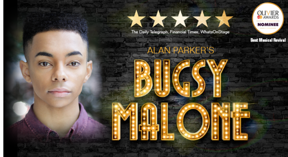 Ainsley Hall-Ricketts can be seen performing in Bugsy Malone at the Lyric Hammersmith