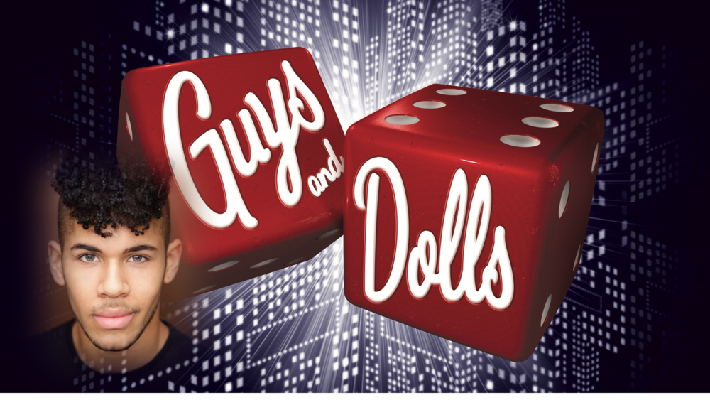 Client Jacob Maynard performs at London's Savoy Theatre in Guys and Dolls
