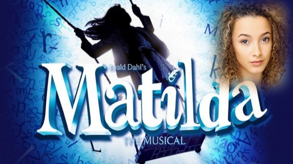 Emma Robotham-Hunt appearing as Child Swing in Matilda in the West End.