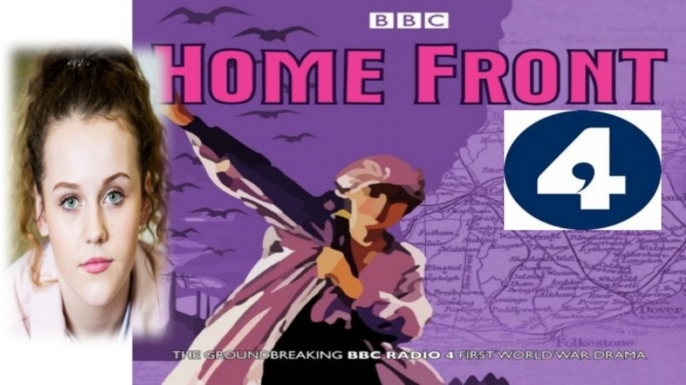 LINK Kids Mia Bainbridge records for BBC Radio 4 programme HomeFront