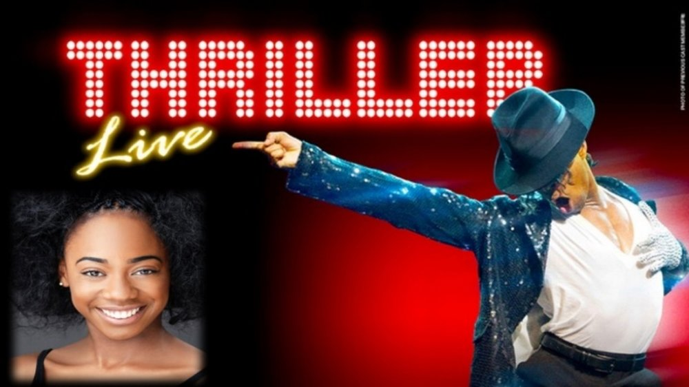 Chante Simpson appearing in Thriller Live West End