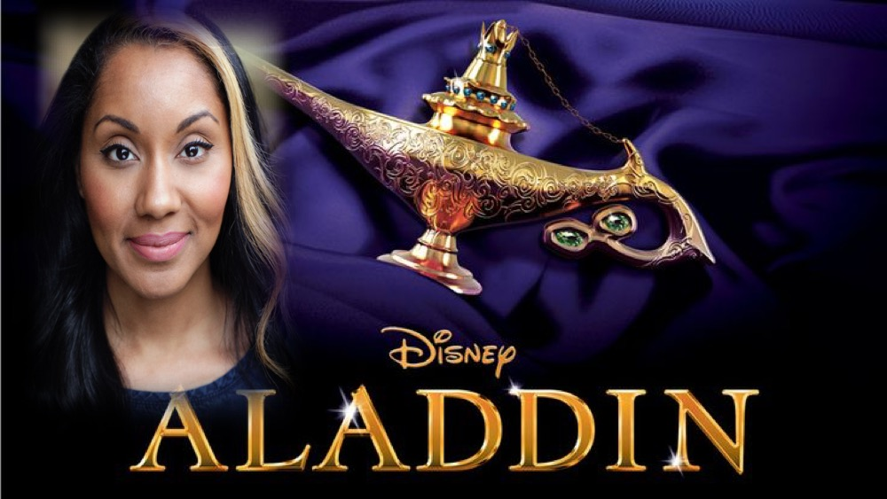LINK PRO client Angeline Bell makes her West End debut today as Ensemble in Aladdin in the West End!