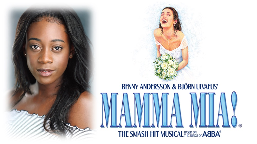 We're delighted as Leah St Luce  just started in MAMMA MIA West End as Lisa / Ensemble.