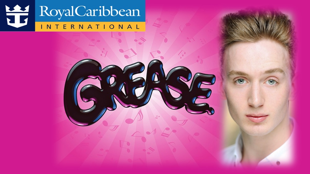 LINK Urdang graduate Nathan Pearce has started onboard the Royal Caribbean Cruise ship Independence of the Seas, in Grease as Eugene/Ensemble.