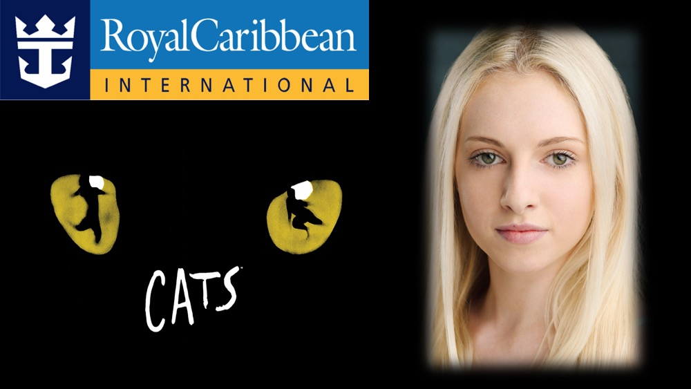 LINK Urdang graduate Elly Shaw is now appearing in Cats as Victoria, Understudy Syllabub and Rumpleteaser on Royal Caribbean Cruise ship Oasis of the Seas.