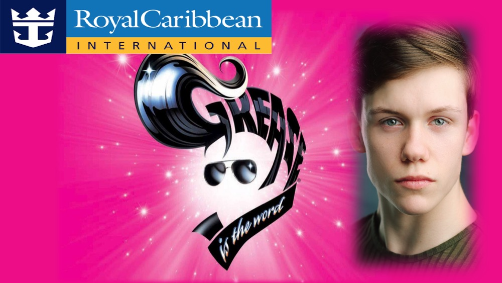 LINK Urdang graduate Arron Hough is now appearing as Ensemble aboard Royal Caribbean Cruise Ship 'Harmony of the Seas' production of Grease.