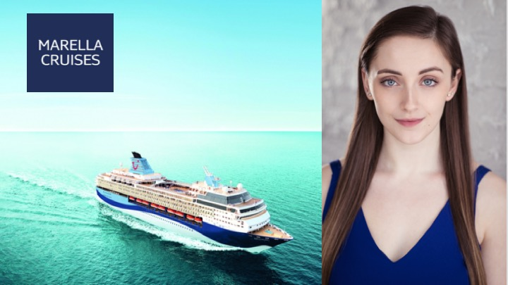 LINK Urdang graduate Lily Nicholson is now apparelling onboard the Marella Explorer as Lead Vocalist.