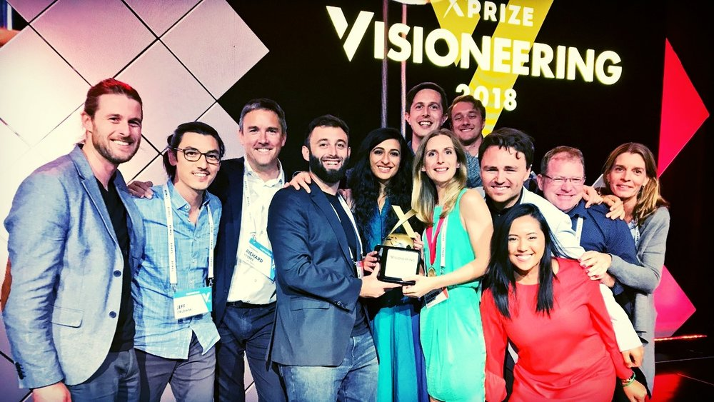 The winners of XPRIZE Visioneering 2018: the Coral Survival team. Huge congrats from our Explainables team - we are proud and happy to have contributed a bit to this amazing success for the teams, the corals and last but not least - humanity.