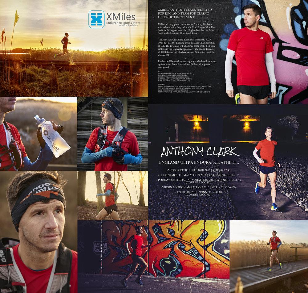Anthony clark england ultra runner 100km
