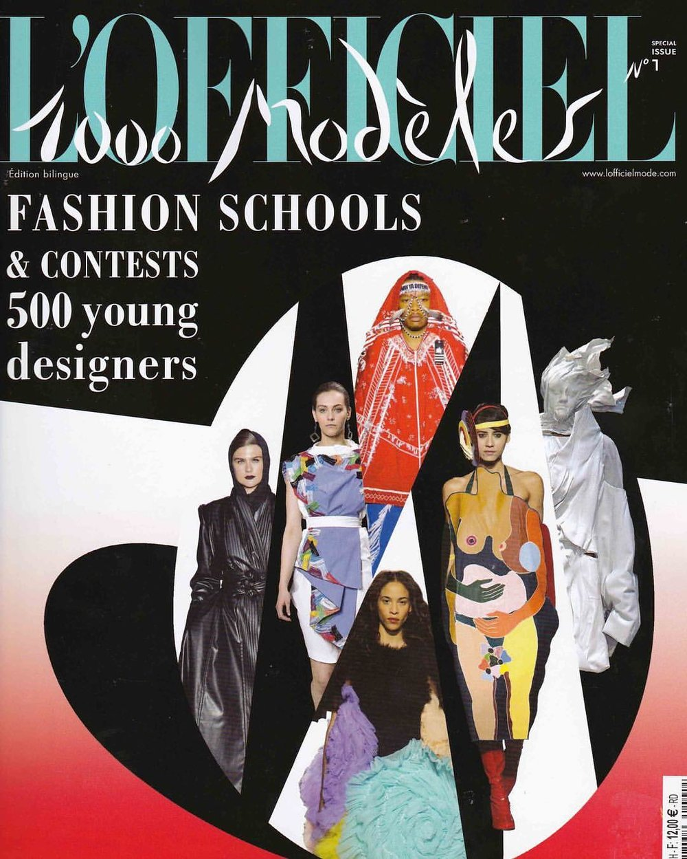 Grey Look is on the cover for L'OFFICIEL Magazine '1000 Modeles' edition