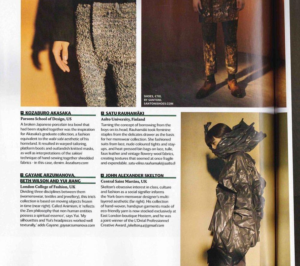 Wallpaper Magazine. Styling Lune Kuipers/ Writer Siska Lyssens/ Photographer Phil Dunlop