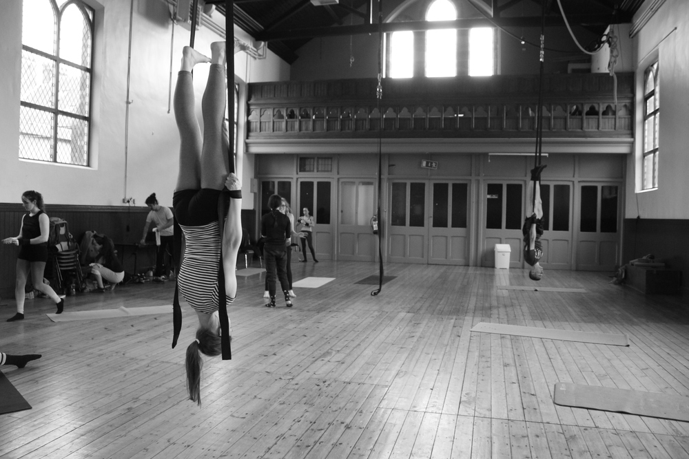 Juan Luis Gonzalez (MEX), Aerial Straps workshops: May 2016
