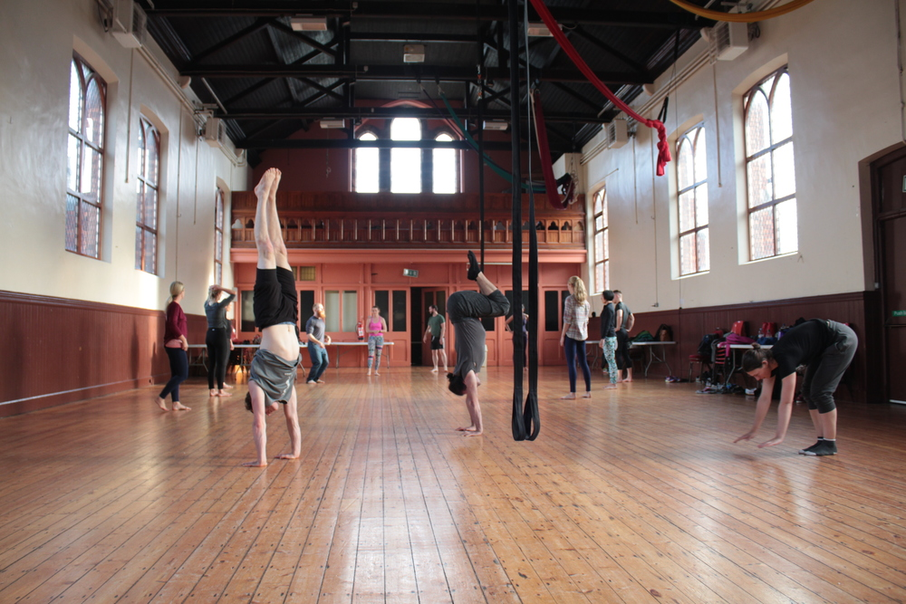 Yuri Marmerstein (US), Handstand Workshops: July 2016