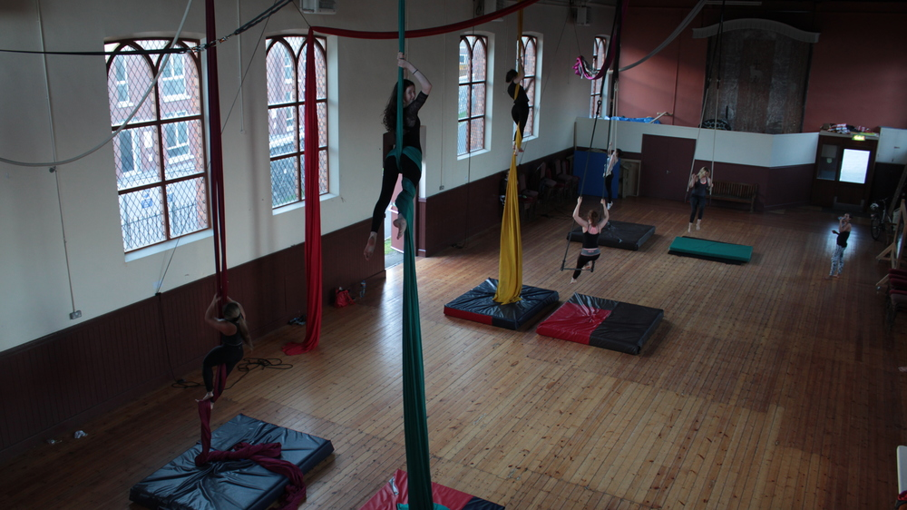 Wednesday Skilled Silks// Aerial 1 & 2 at St. Anthony's Hall
