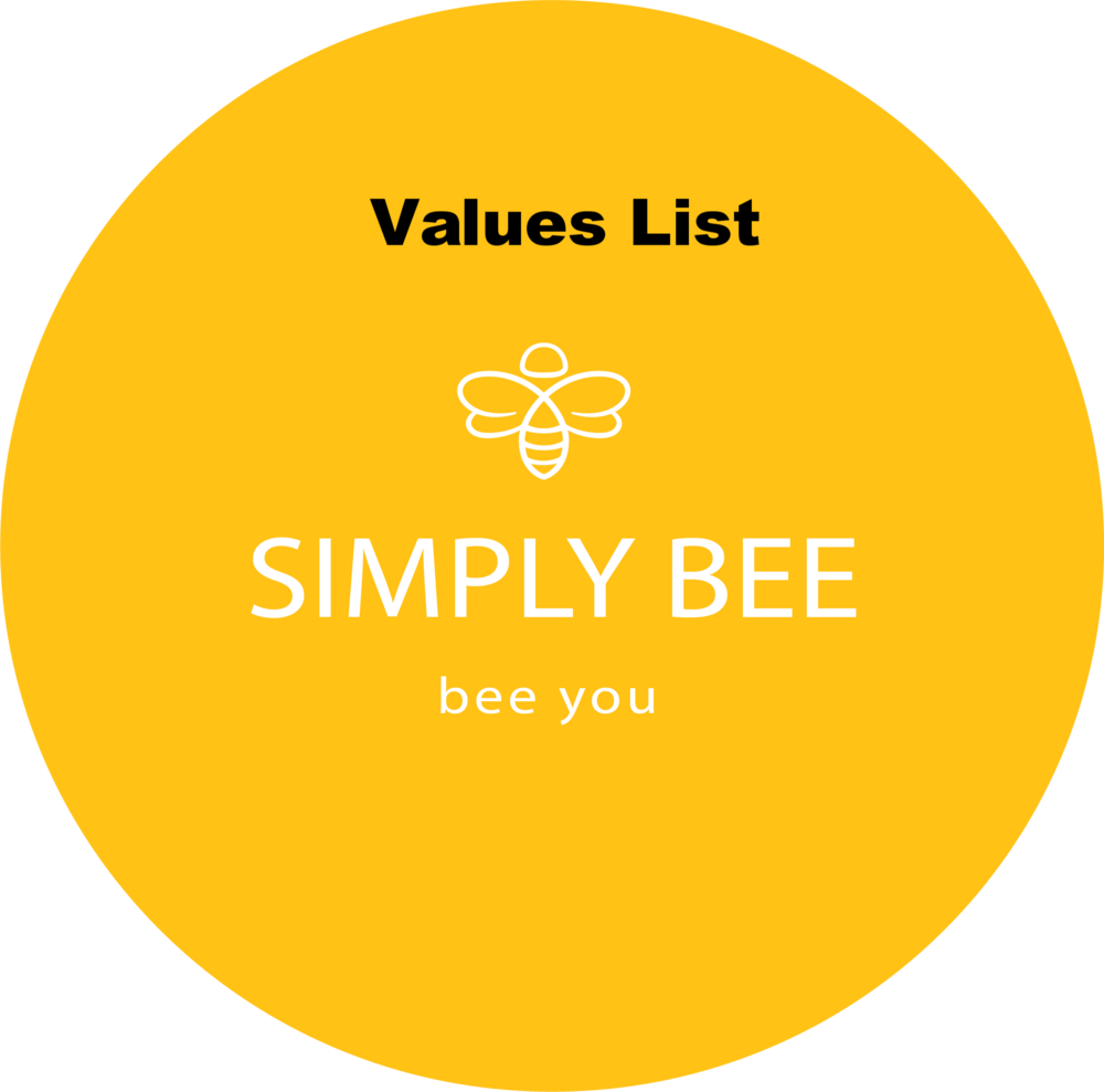 SimplyBee Value List