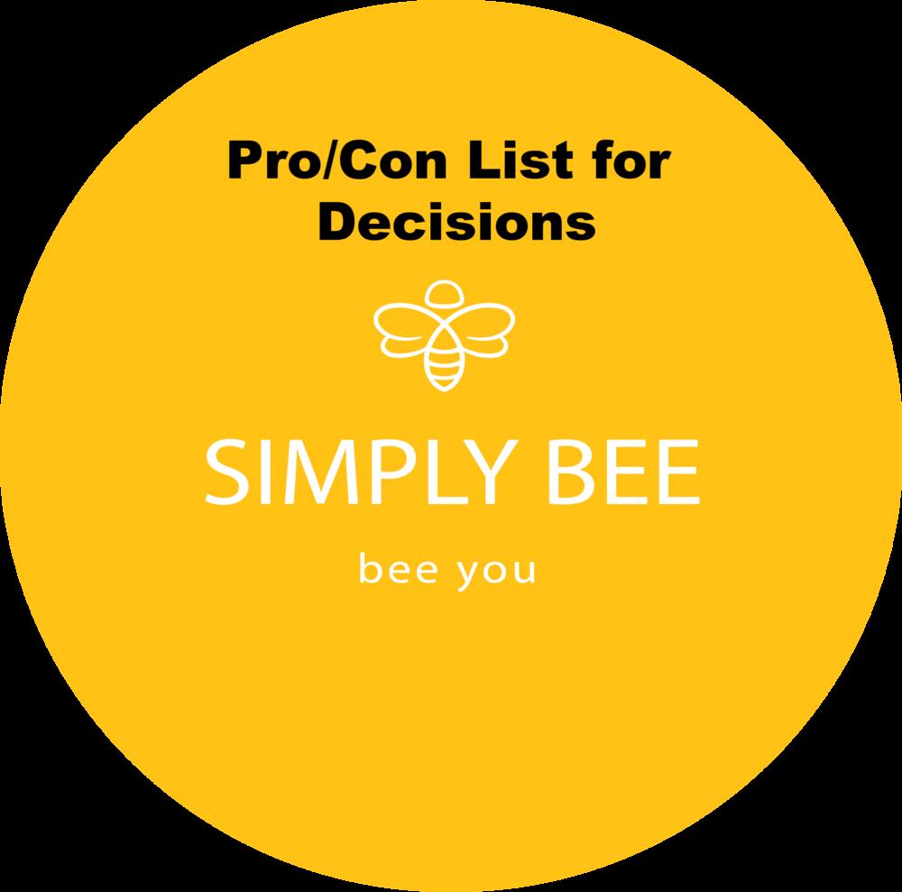 SimplyBee Pro Con List