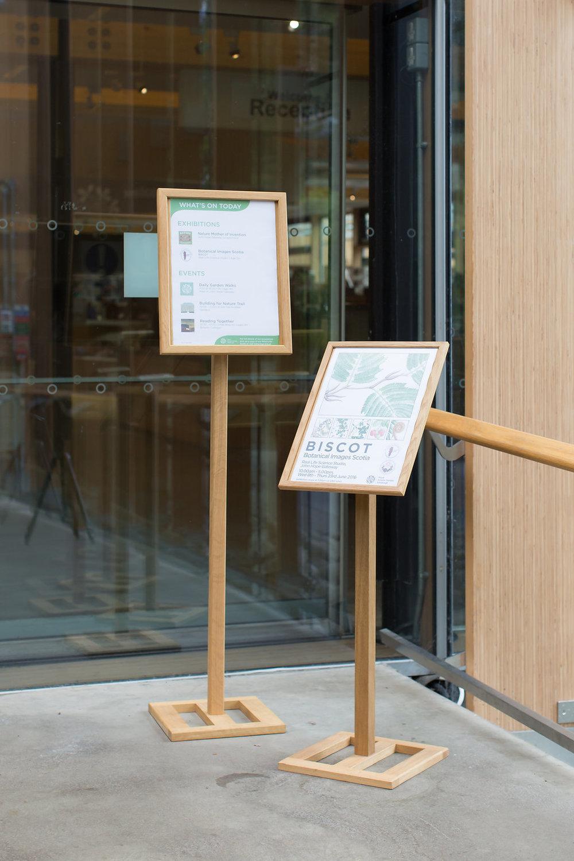 signage botanic gardens