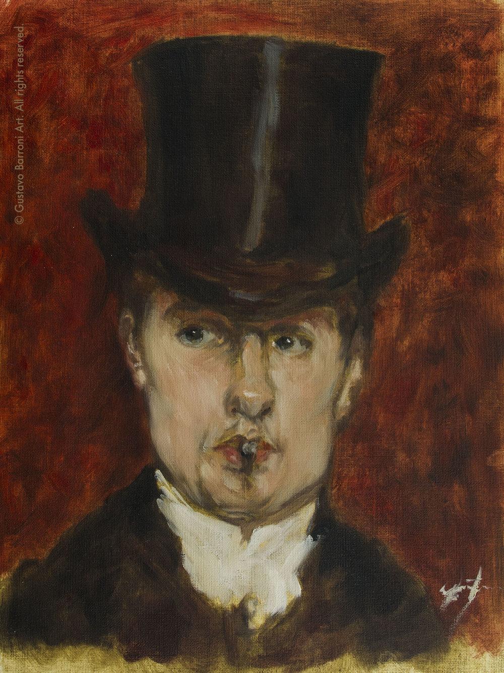 Portrait De Gustave Tempelaere