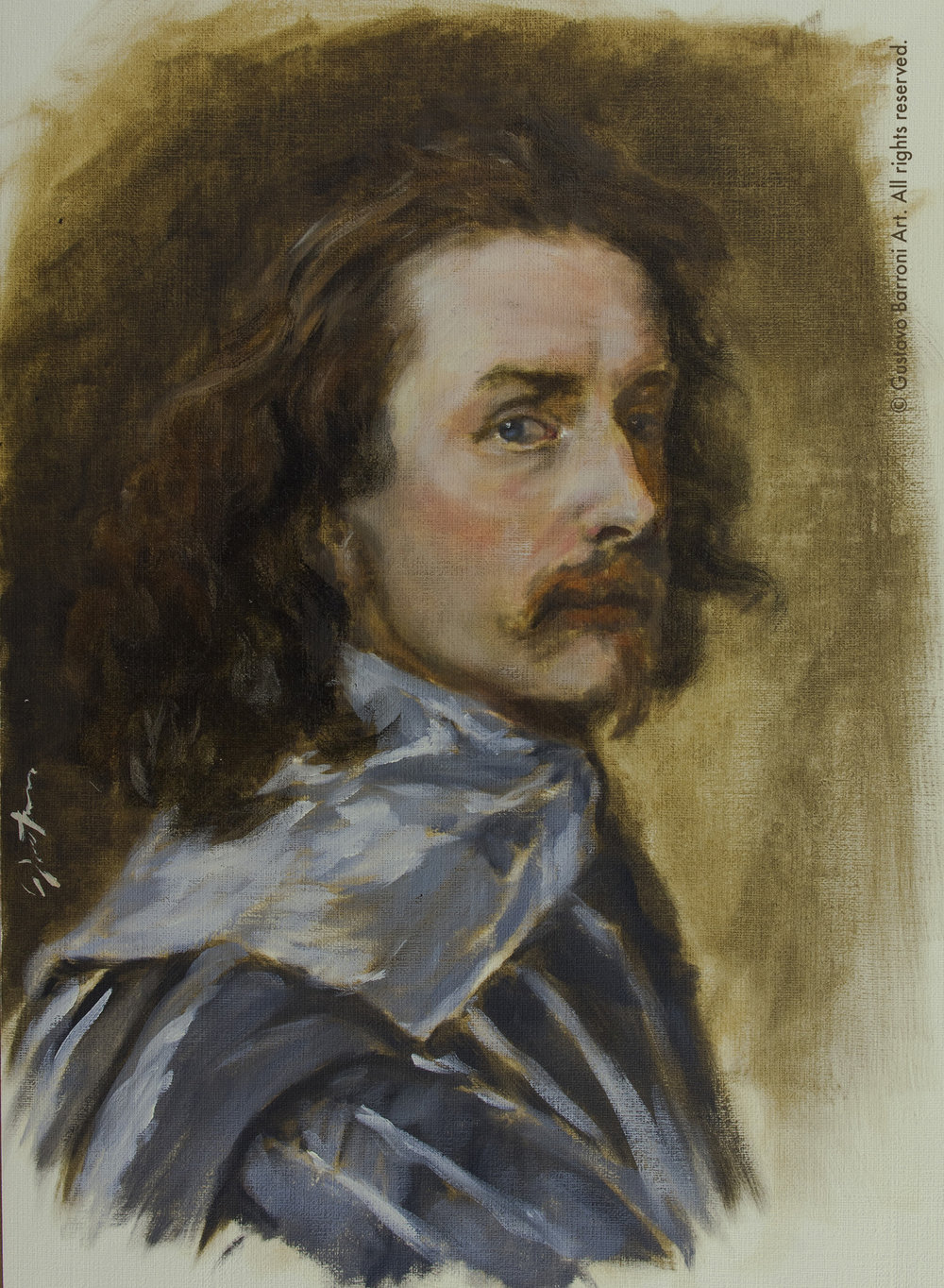 Sir Anthony Van Dyck self-portrait