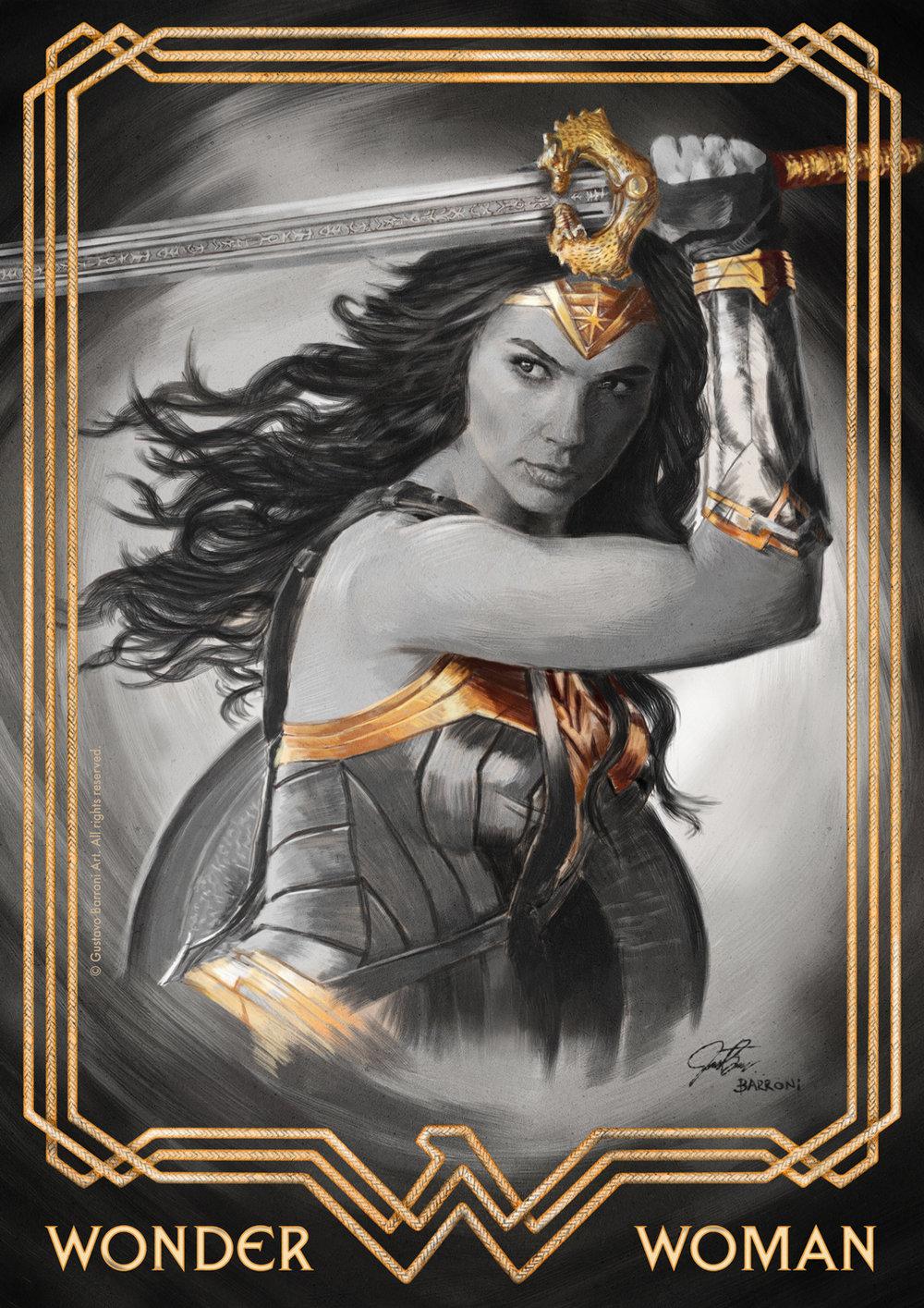 Wonder Woman - Client work