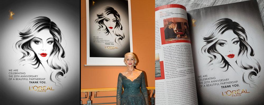 Berlinale & L'oréal 20th Anniversary - Client work
