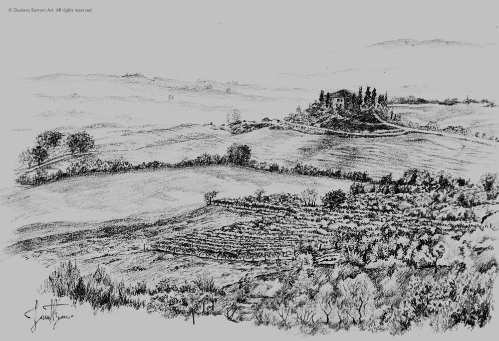 Toscana landscape - Client work