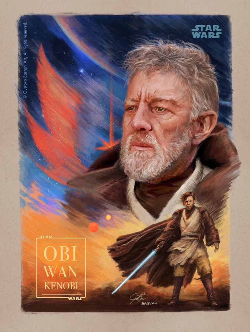 Obi Wan Kenobi - Client work