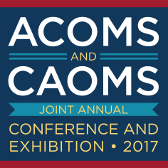 ACOMS and CAOMS 2017