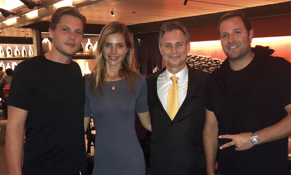 CJ Jones, Astrid Baarsma, Michael Cayre