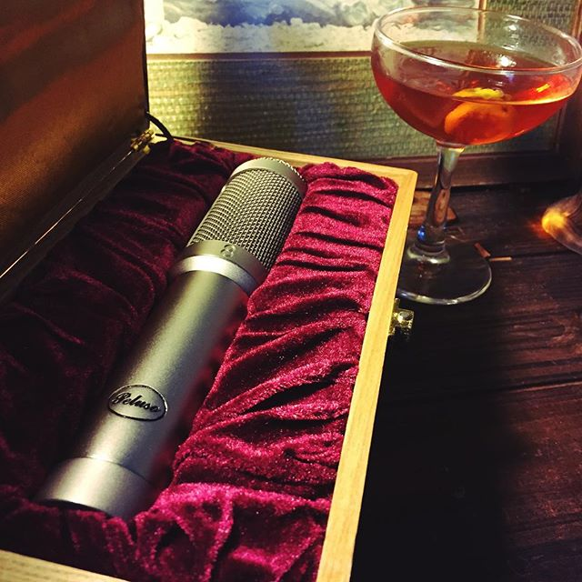 Come get decadent with the R14. @pelusomicrophonelab #ribbonmics #sazerac