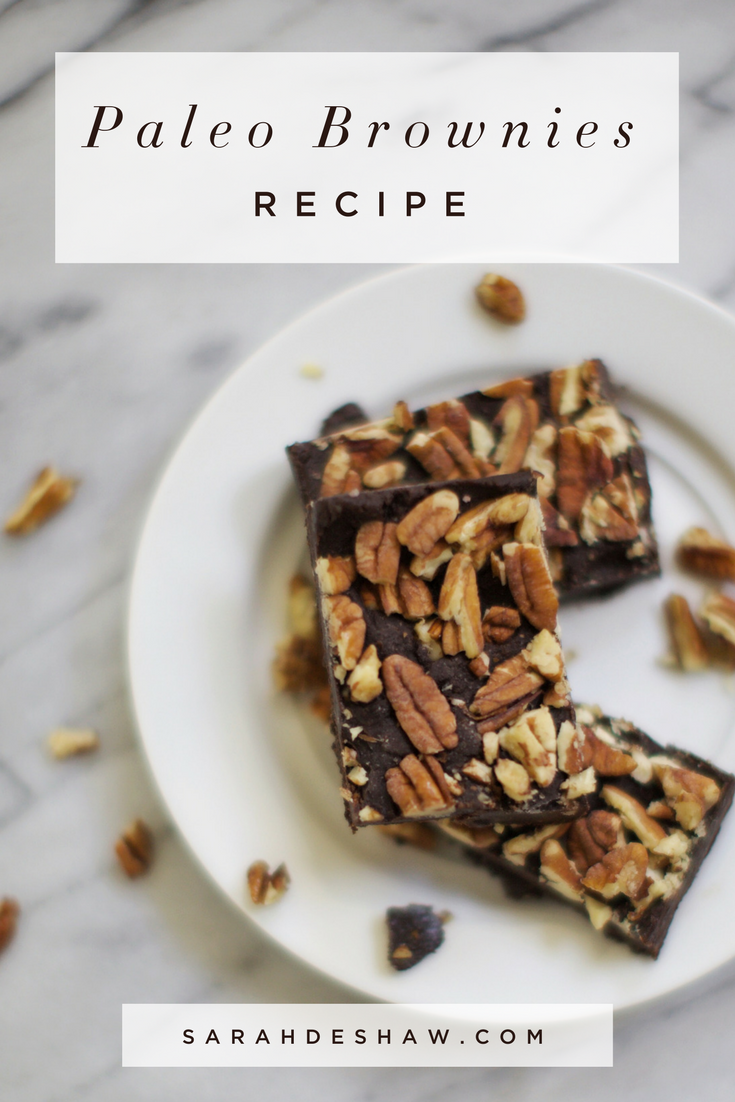 Delicious Paleo Brownies
