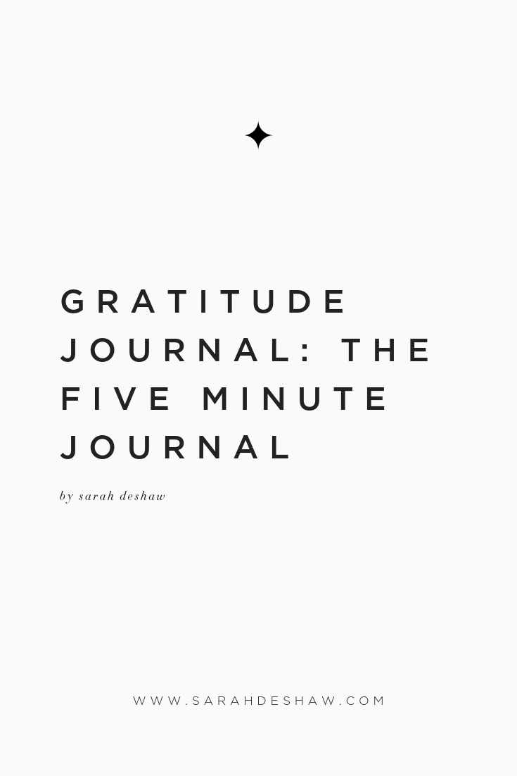 GRATITUDE JOURNAL THE FIVE MINUTE JOURNAL.jpg