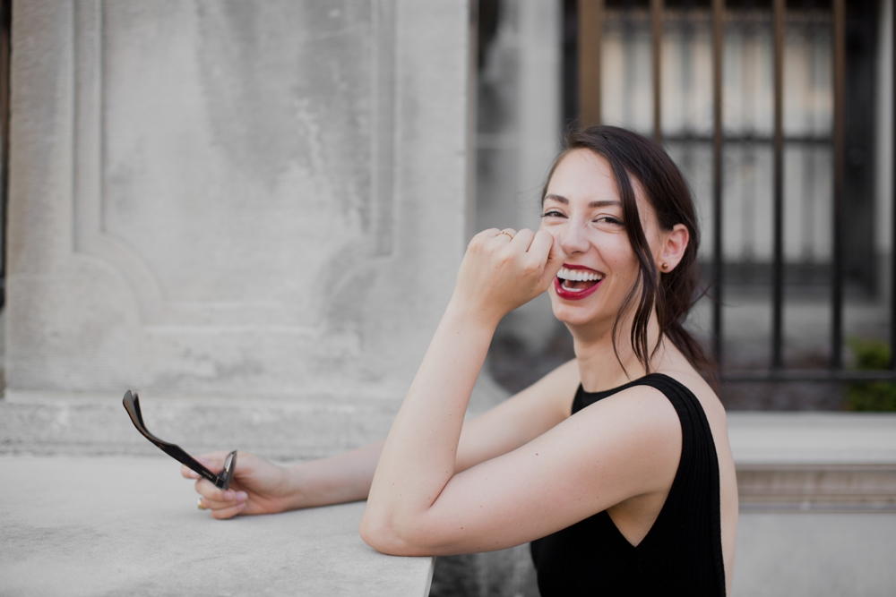 where to find instagrams ask questions feature sarah deshaw red lipstick smile.jpg