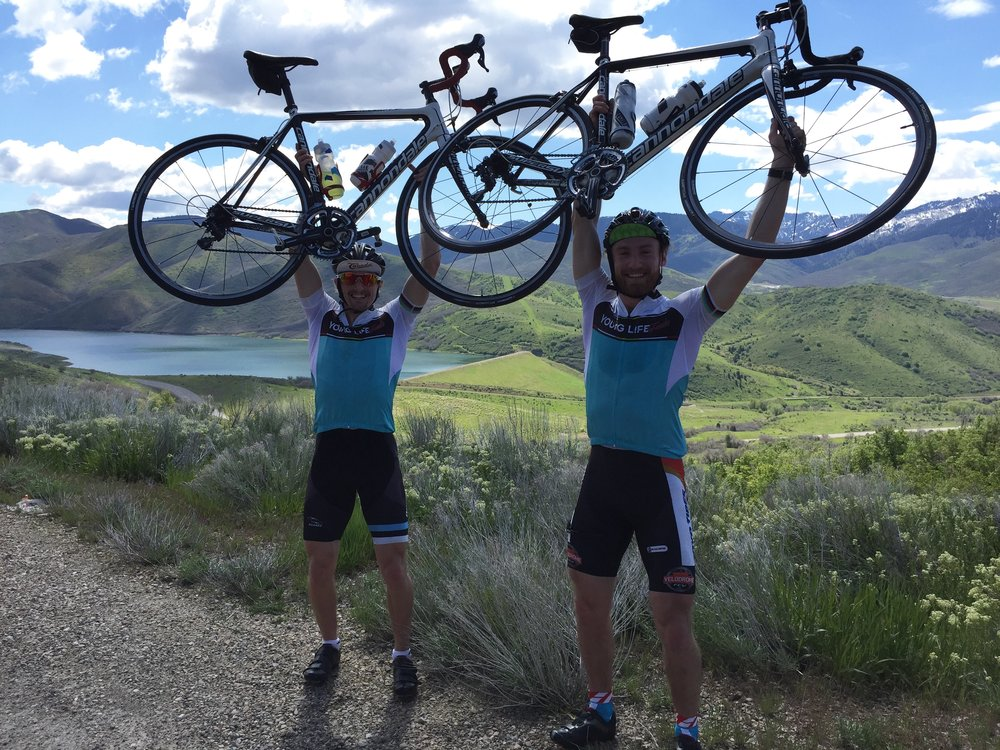 Big Cottenwood Canyon climb - 1 hour and 20 minutes to get to the top!
