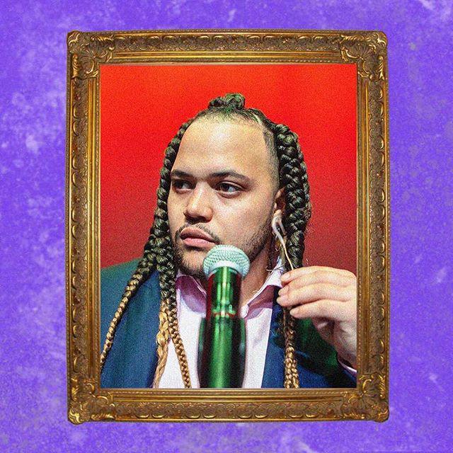 (R)UEROB . . . . . . . . . . . #baba #rue #rob #babaruerob #babaandme #hiphop #culture #sxsw #love #father #salute #faith #houston #texas #screwston #nightmayor #jackyates #match #hou #suit #menshair #shoes #red #mic #nyc