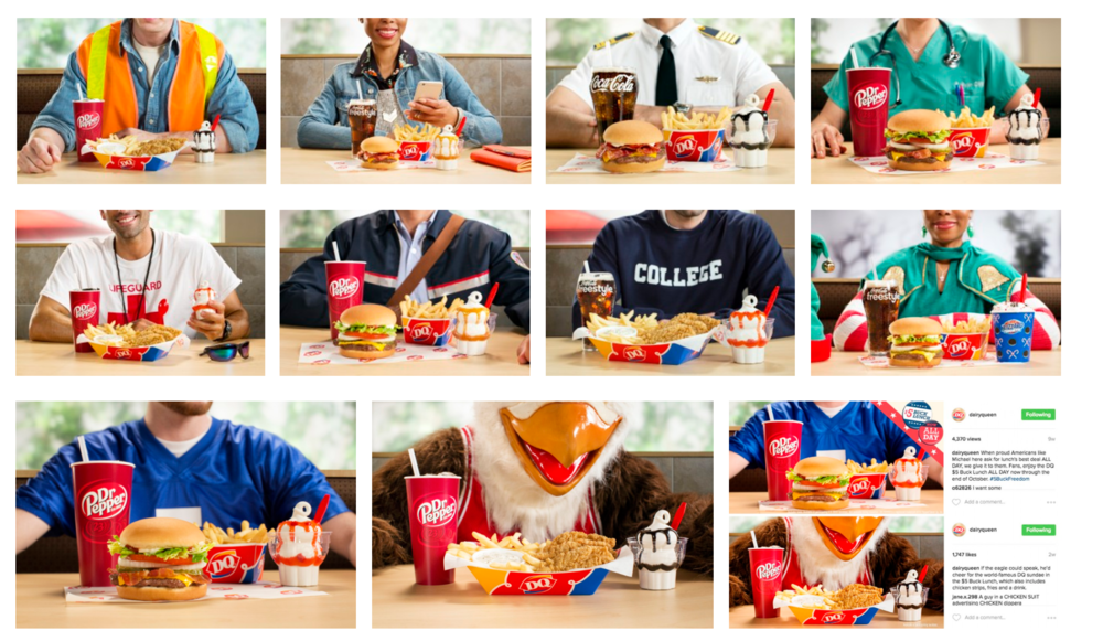 Client: Dairy Queen,  Agency: Barkley,  Photographer: Brian Sorg