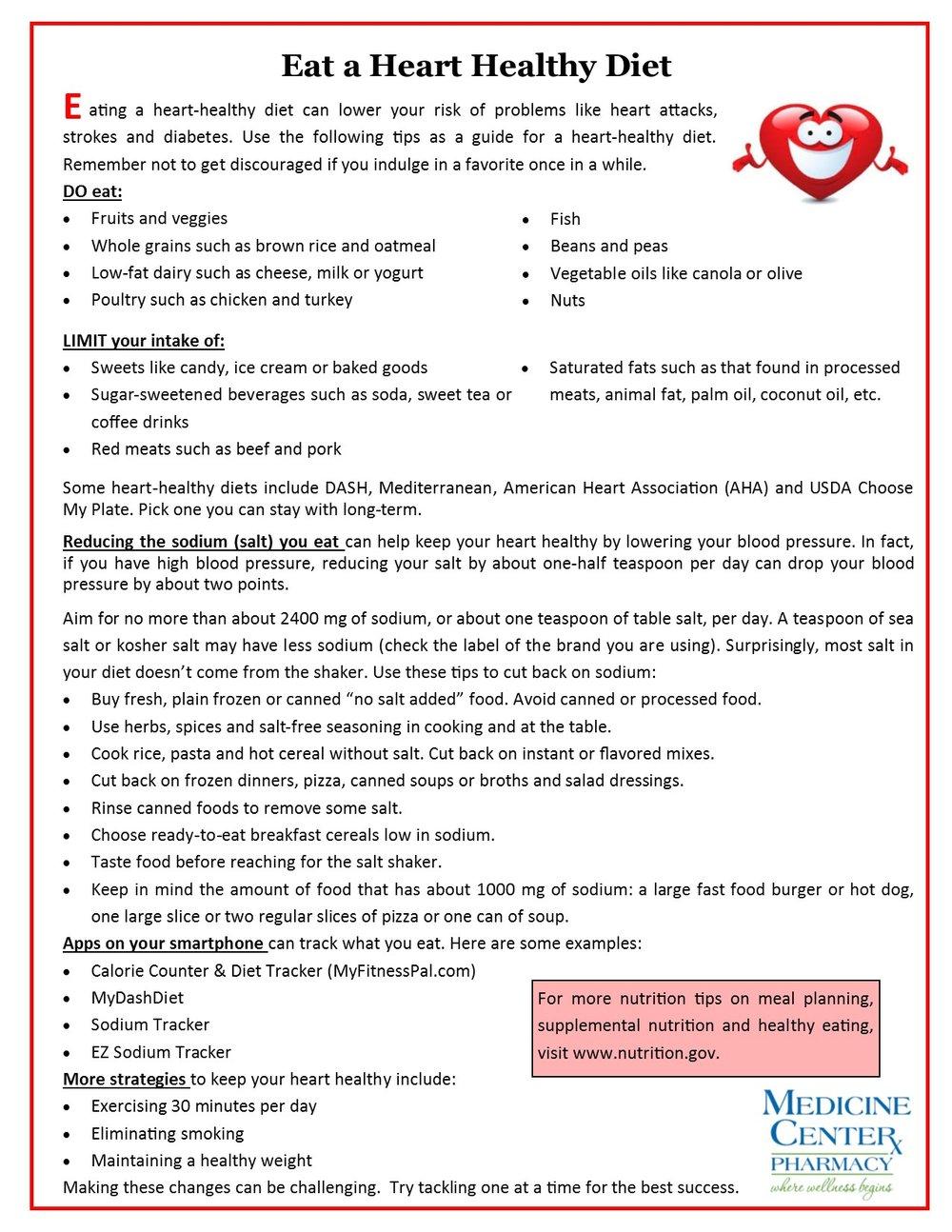 Nutrition - Heart Healthy flyer.jpg