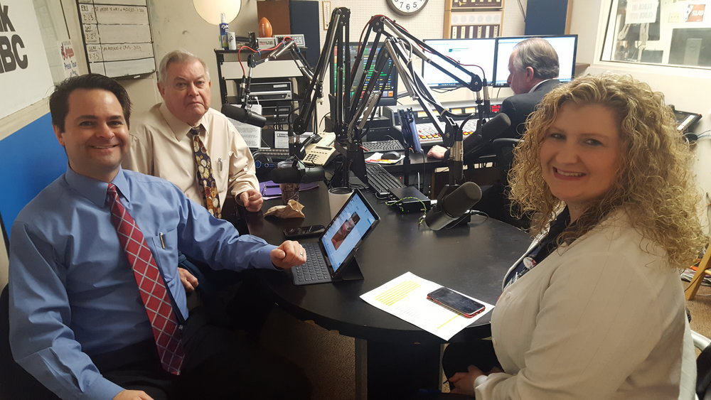 Pharmacists and Health Matters hosts Brad and Paul White discuss wound care with Kim Landsberger, RN.