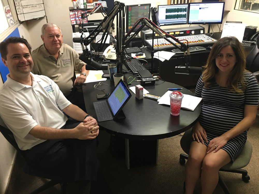Pharmacists and hosts Brad White and Paul White talk about healthy weight loss with Mercy's Sereen Zawahri-Krasuna.