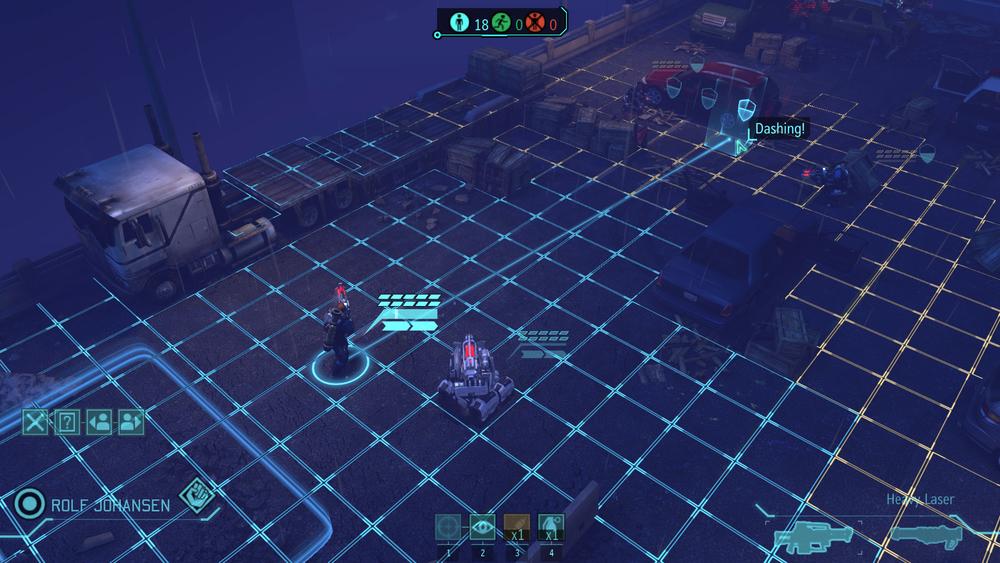X-Com Gameplay